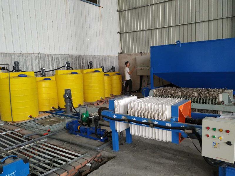 汝阳电路板碱洗废水处理设备项目